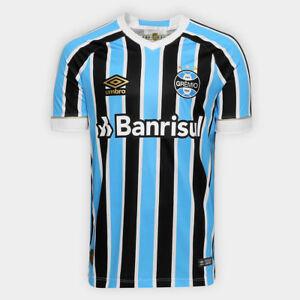 A imagem está carregando Gremio-Home-Soccer-Football-Maglia-Jersey-Shirt- 2018- d749dee864995