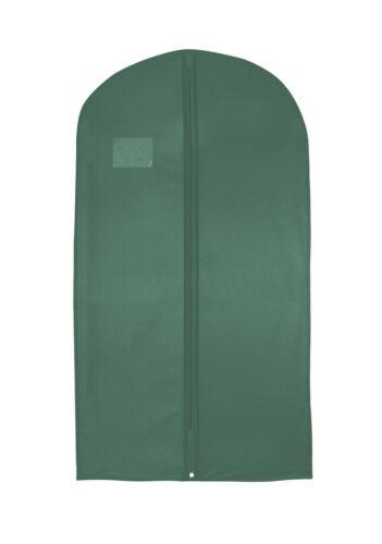 Camisas de hombre de paquetes de múltiples hoesh Traje de almacenamiento de información de viaje cubierta con cremallera larga bolsas de prendas de