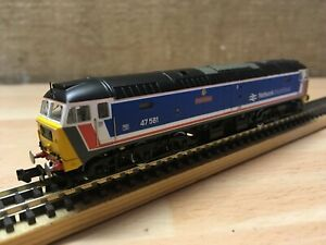 Graham-Farish-370-430-Class-47-47581-Great-Eastern-Network-Southeast-T48-Post
