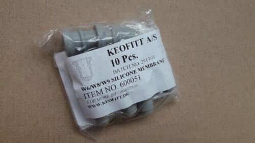 SIMPLEX 10 Pcs Sillicone Membrane #600051 KEOFITT W9