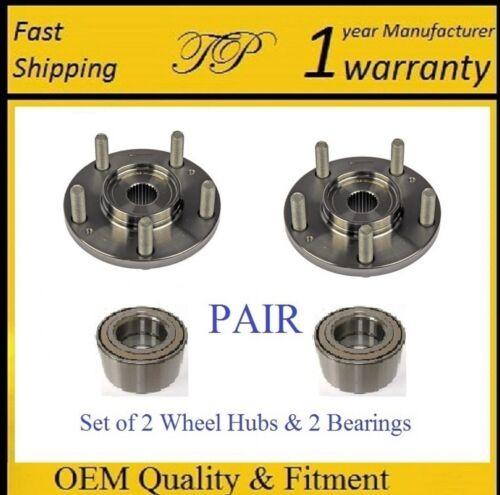 PAIR Front Wheel Hub /& Bearing Kit for 2007-2010 KIA RONDO
