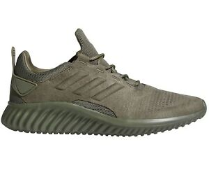 4433ed72b Image is loading Adidas-Alphabounce-CR-Mens-CG4572-Base-Green-ForgedMesh-
