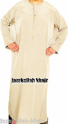 Strong-Willed Jubba-omani Jubbah- Thobe 52/54/56/58/60 - 7 Colours