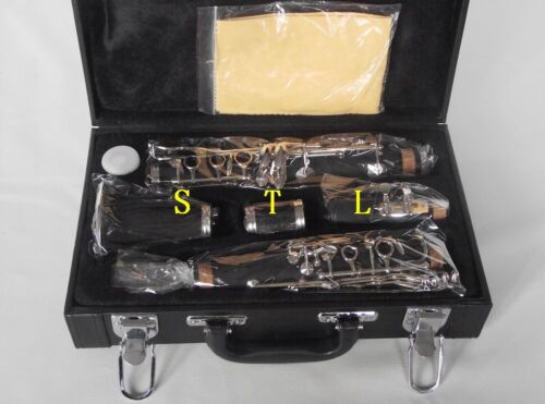 Professional New C key clarinet Ebonite Good material and sound