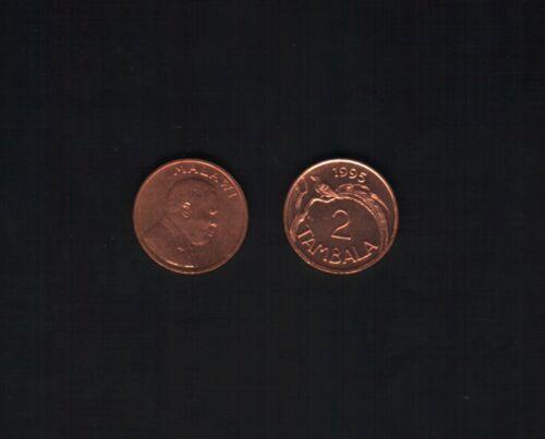 MALAWI 2 TAMBALA KM25 1995 WHYDA BIRD UNC COIN LOT X 100 PCS ANIMAL WILD LIFE