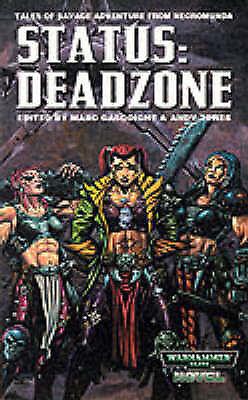 (Good)-Status: Deadzone (A Warhammer 40, 000 novel) (Paperback)--1841541192