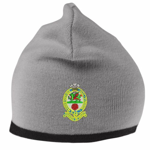 Princess of Wales/'s Beanie Hat with Embroidered Logo