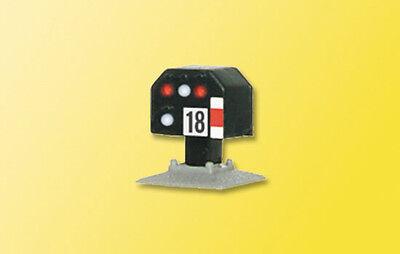 Gentile Viessmann 4818 Spur Z , Segnale Luminoso Di Stop, Nieder # Nuovo In Confezione Con Metodi Tradizionali