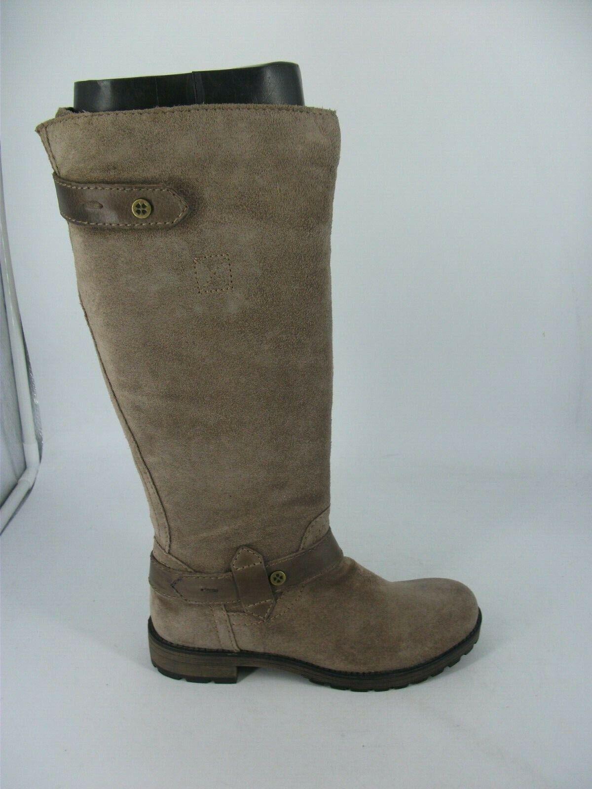Naturalizer Tanita Suede Knee High Boots UK 3 EU 35 JS094 KK 01