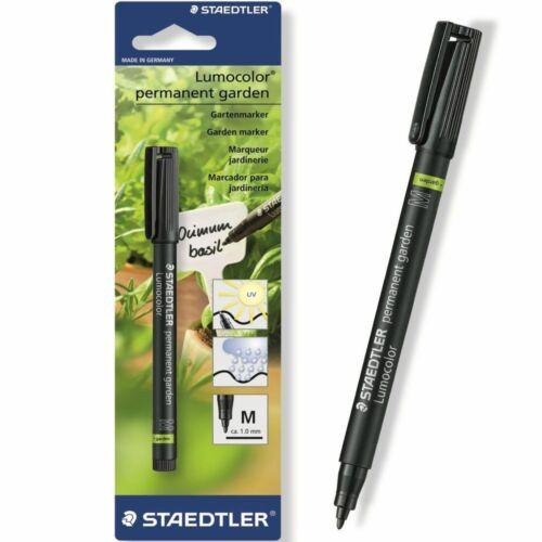STEADTLER NEW PROFESSIONAL GARDEN MARKER PEN UV WATERPROOF PLANT LABEL POT BLACK