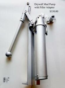 Drywall Taping Tools, Mud Pump, Flat Mud Box, Box Handle, Corner Roller, Corner Flusher Ontario Preview