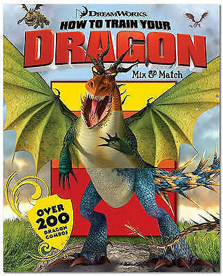 1 of 1 - How to Train Your Dragon Mix & Match-ExLibrary