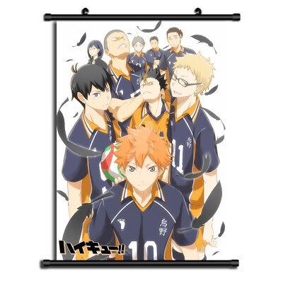 Haikyuu Karasuno Date Tech High HD Canvas Print Wall Poster Scroll Room Decor