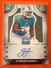 2014 Crown Royale JA'WUAN JAMES RC AUTO BLACK #1/1 Made Tennessee/Dolphins #S-JW
