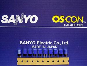 10pcs-Oscon-Sanyo-OS-CON-330-F-6-3V