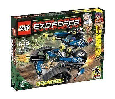 Lego Exo-Force 8118 Hybrid Rescue Tank Nuovo SEALED