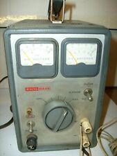 Vintage Eico 1064s 612v Dc Power Supply Battery Eliminator Power Tested