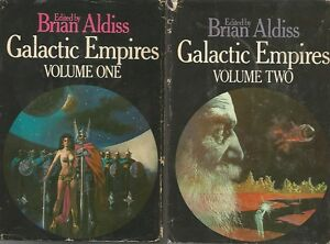 Galactic-Empires-One-amp-Two-Edited-by-Brian-Aldiss-HC