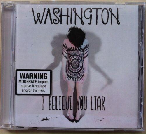 1 of 1 - Washington - I Believe You Liar (CD, Nov-2011, Mercury)