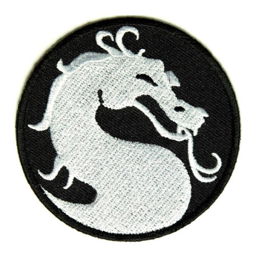 Embroidered Dragon Sew or Iron on Patch Biker Patch