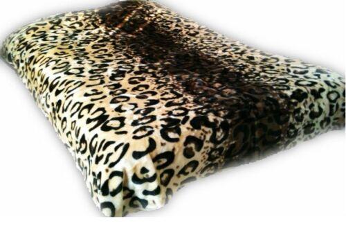 Leopard Skin design New Korean Style cozy Queen/King size Blanket