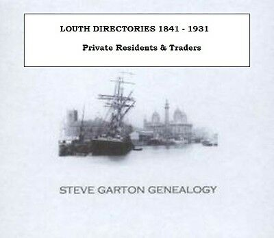 LOUTH DIRECTORIES - KELLYS, PIGOTS & WHITES