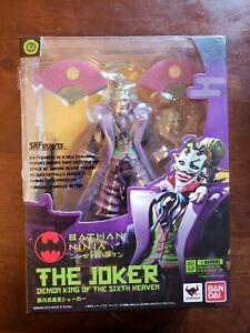 Batman Ninja S H Figuarts Joker Ebay
