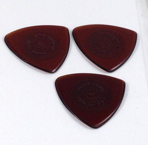 Dunlop Guitar Picks  12 Pack  Primetone Tri Triangle Txt Hand Sculpted  1.5mm