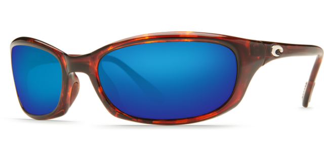 11434adb91edb Costa Del Mar Harpoon Men Sunglasses Tortoise   Blue Mirror 580P Polarized  Glass