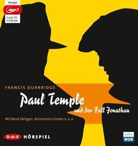 FRANCIS-DURBRIDGE-PAUL-TEMPLE-UND-DER-FALL-JONATHAN-MP3-CD-NEW