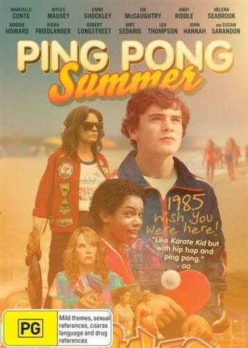 1 of 1 - Ping Pong Summer (DVD, 2015)