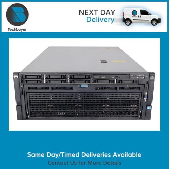 HP DL580 G7 4 x E7-4870 32GB (16 x 2GB) P410I/1G FBWC 4 x 800W PSU - 643063-421