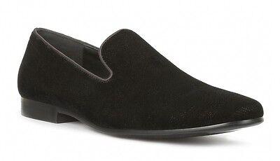 Giorgio Brutini Cohort Men/'s Slip-On Loafer Black Sequin Dress Shoes 179301