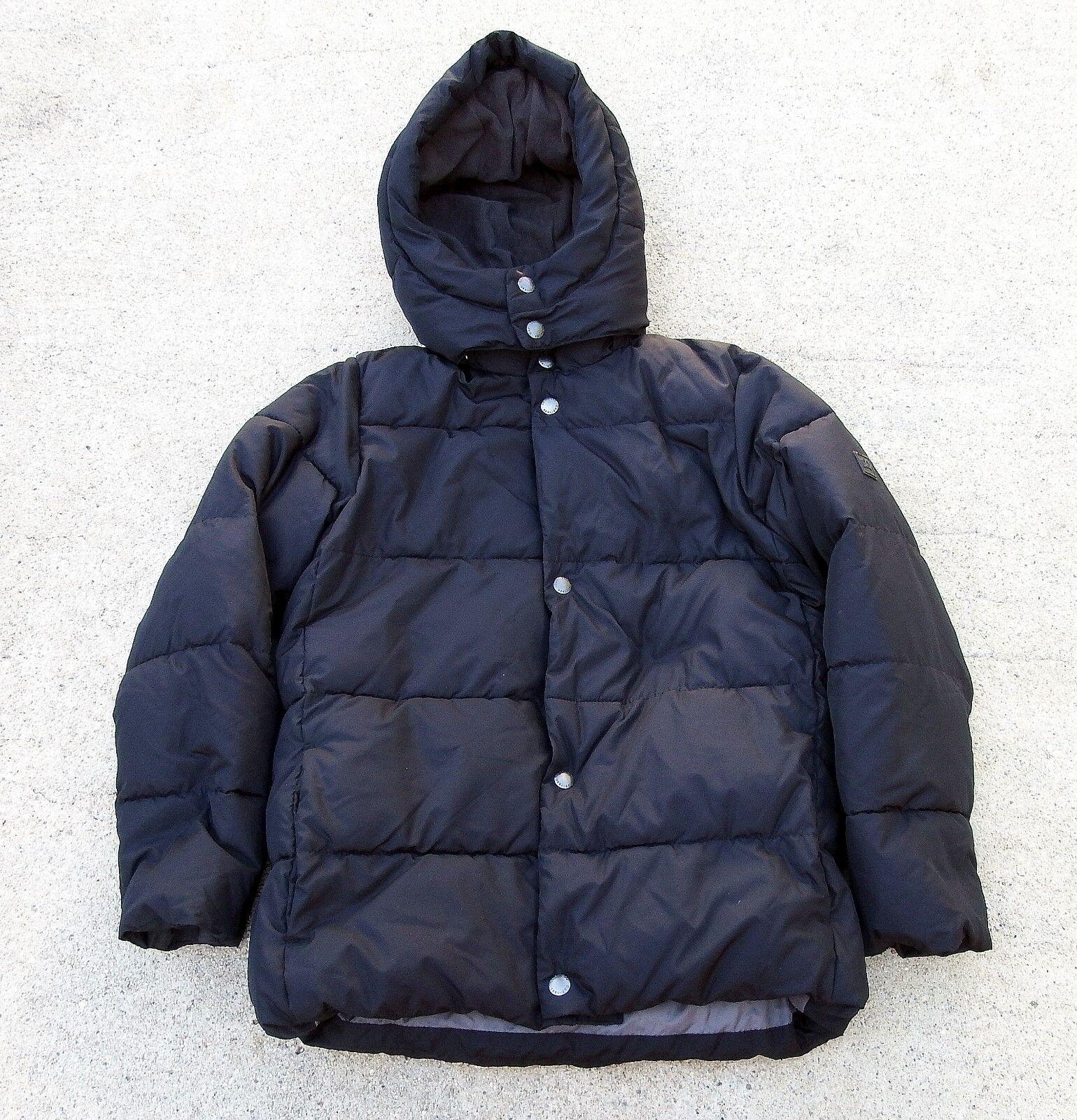 NWT!GAP KIDS Black Primaloft Jacket ~ Größe 12 (XL) UVP 108 $ ~ 1, - TAG KOSTENLOS