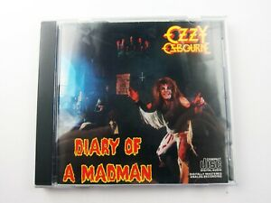 Ozzy-Osbourne-Diary-Of-A-Madman-CD-Original-Jet-Records-Used-Tested-EX