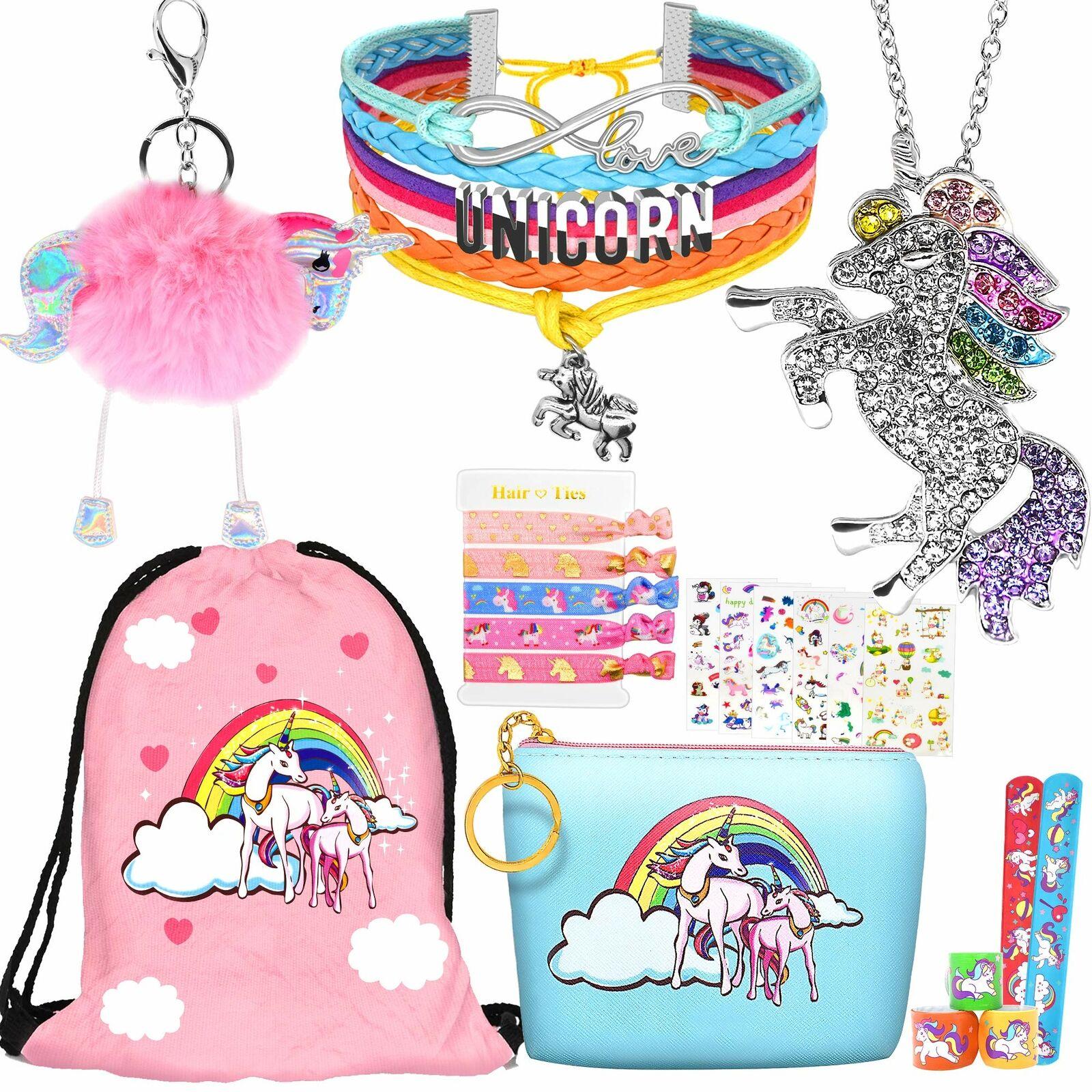 Unicorn Bracelet for Girls Unicorn Jewelry for Women and Bangle Size Personalized Initial Birthstone Personalized Unicorn Gifts for Girls