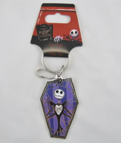 DISNEY JACK  SKELLINGTON COFFIN THE NIGHTMARE BEFORE CHRISTMAS  METAL NEW  K0029