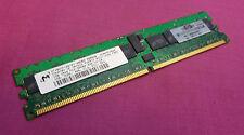1GB HP Micron mt18htf12872y-40eb3 PC2-3200R 240-p 400 MHz DDR2 ECC memoria del server