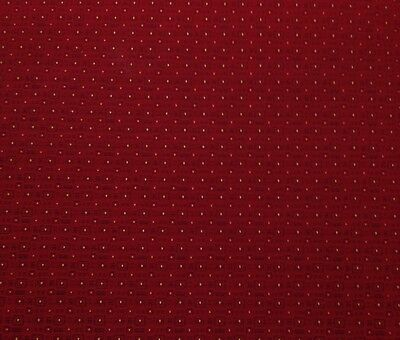 """CRYPTON TOWN SQUARE CHIANTI RED GEOMETRIC JACQUARD FABRIC BY THE YARD 59""""W"""