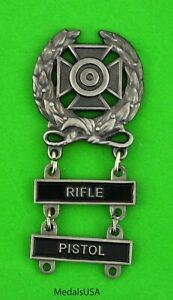 Army-Expert-Marksmanship-Badge-with-RIFLE-amp-PISTOL-Qualification-Bars