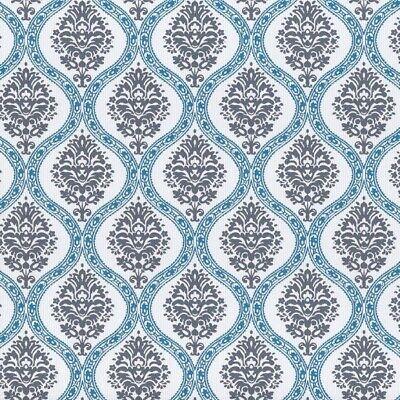 Tapete Rasch Textil Streifen blau grün rosa Vintage Diary 255033 2,75€//1qm