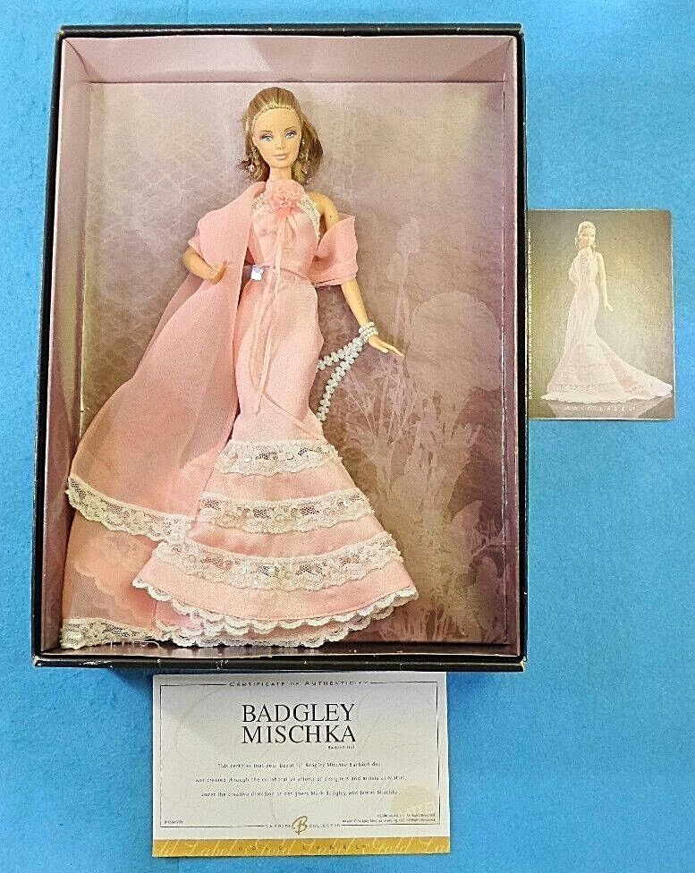 BARBIE BADGLEY MISCHKA SILKSTONE DOLL oro LABEL COLLECTION J9180 MATTEL FASHION