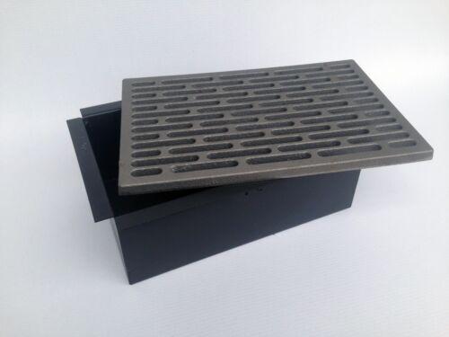 Cassetto,box,,cenere,rinforzato,acciaio,camino,mattoncino 20x30 LB-BOX33