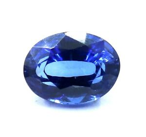 7.70 Ct Natural Royal Blue Sapphire Oval STUNNING Ceylon Certified Loose Gems