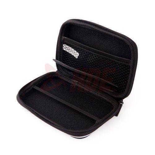 "Black Hard Carry Case Pouch Bag Zipper Pouch 2.5/"" HDD GPS Garmin Nuvi Portable"