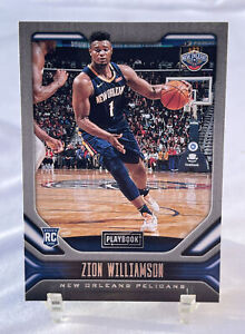 2019-20 Panini Chronicles Playbook ZION WILLIAMSON Rookie RC #169 Pelicans