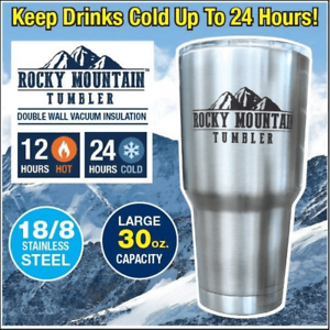 Rocky-Mountain-Tumbler-Double-Wall-Vacuum-Insulated-30-Oz-Cup-As-Seen-on-TV