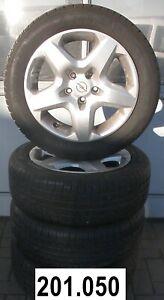 Opel-Astra-H-Sommerraeder-205-55-R16-91V-Stahlfelgen-Radzierblende-2160131