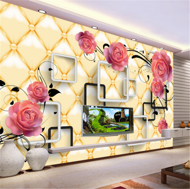 3D ROT Flower Pattern 842 Wallpaper Mural Paper Wall Print Wallpaper Murals UK