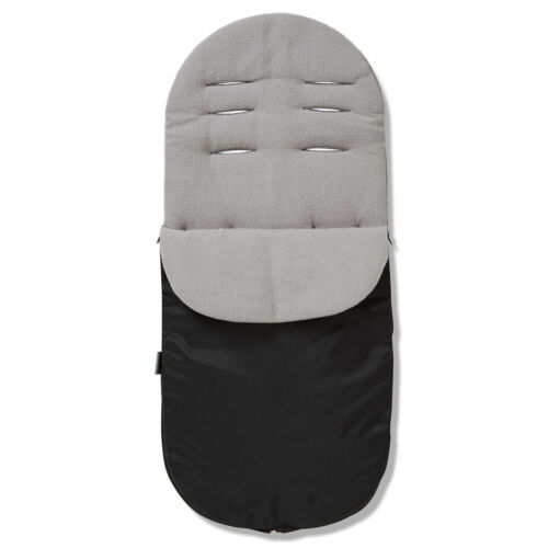 Grey Footmuff Cosy Toes Compatible with Cosatto Busy Go